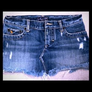 Abercrombie & Fitch Jean skirt!